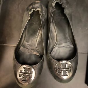 Tory Burch Reva shoes silver